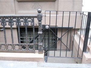 Routinely removing deteriorating paint, arresting rust, and repainting cast iron and steel railings protects the longevity of the metal.